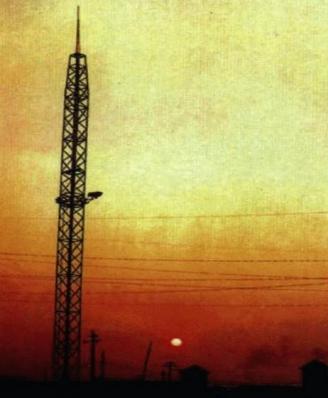 避雷针式投光灯塔