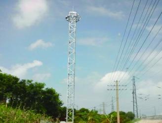 升降式投光灯塔